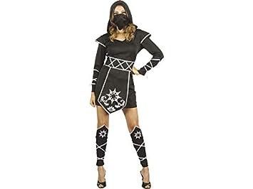 DISONIL Disfraz Ninja Mujer Talla S: Amazon.es: Juguetes y ...