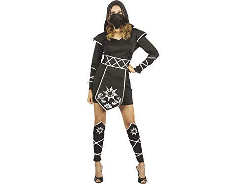 DISONIL Disfraz Ninja Mujer Talla M: Amazon.es: Juguetes y juegos