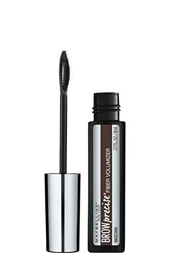 Maybelline New York Brow Precise Fiber Volumizer, Deep Brown, 0.27 Fluid Ounce