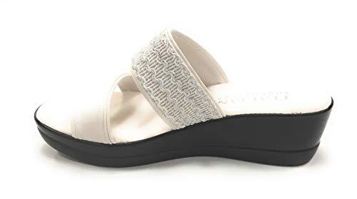 White Slide Italian Women's Sandal Shoemakers Lorel Xw8gv