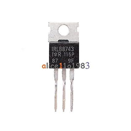 10PCS IRLB8743PBF IRLB8743 TO-220 IR MOS IC Chip TO-220 L8