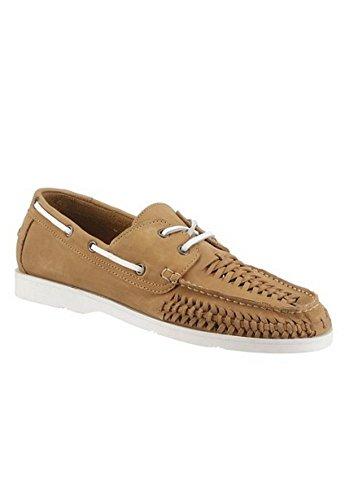 Hush Puppies Schnürer - Zapatos de cordones de Piel para hombre marrón claro