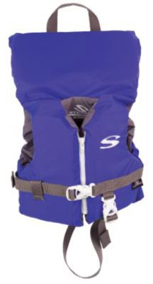 Stearns 2000004168 Classic Series Life Jacket. Blue Nylon, Infant Under 30-Lbs. - Quantity 1