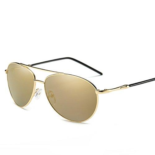 Sol para De Gafas Mujer Aviator C2 UV para Protección Polarizadas 400 Hombre C1 f5xZB