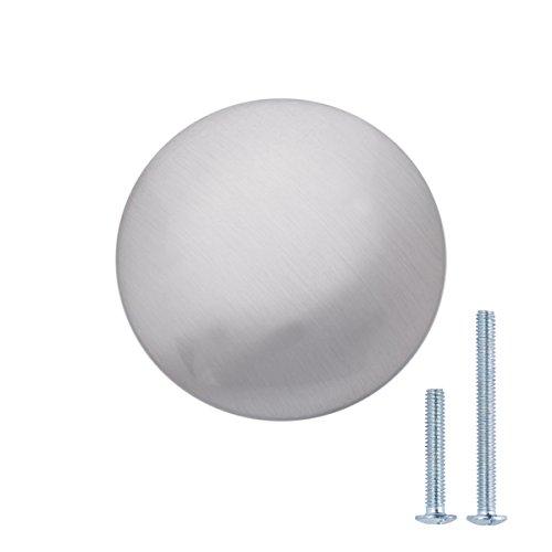 nickel round knob - 8