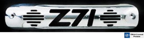 Polished Billet Third Brake Light - All Sales 94010P Polished Billet Aluminum Third Brake Light Cover - Z71 Logo
