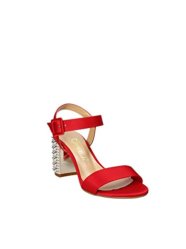 1490 Shoes Negro Mujeres Grace Altos Sandalias aH6w55q