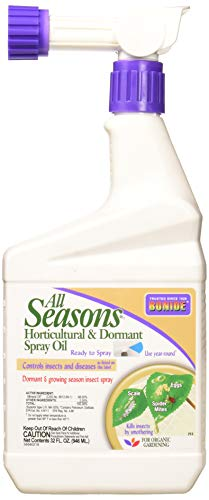 Bonide Products (BND213 All Seasons Horticultural and Dormant Oil Grow Spray, 32 oz (Spray Green Roses)