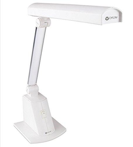 Ottlite Folding Desk Table Lamp | Energy Efficient Craft Reading Lamp for Home, Work, Office, Dorm, Bedroom, Studio by OttLite