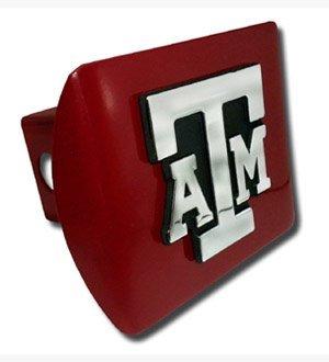 Maroon Hitch Cover Elektroplate Texas A/&m Univ