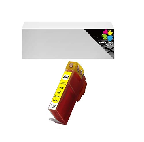 GTS Compatible HP564XL InkCartridge Yellow High Yield for HP 3520 3521 3522 3526 4610 4620 4622 5510 5512 5514 5515 5520 5525 6510 6512 6515 6520 6525 7510 7515 7520 7525 B8550 (1Yellow)