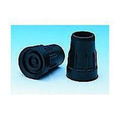 Cane Tips In Retail Box Fits 5/8'' Shaft (Pack of 4) Black