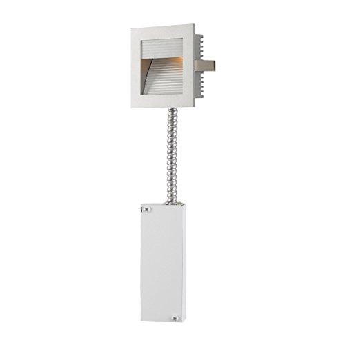 Steplight - Wall Recessed Xenon W/ Retrofit Housing Grey Reflector / Grey Trim. by AR Lighting (Image #1)