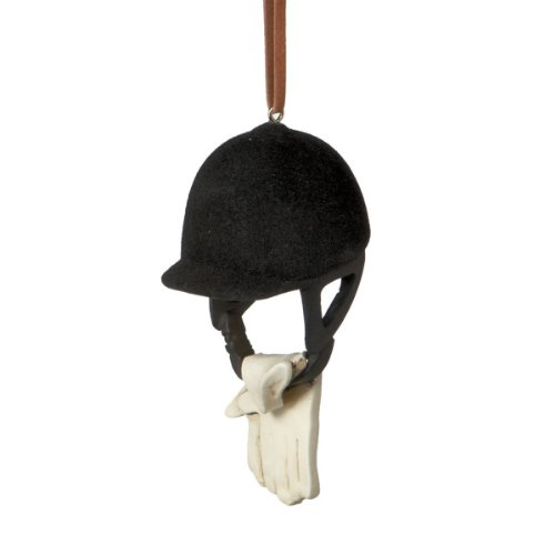 Midwest Cannon Falls Riding Helmet Christmas Ornament