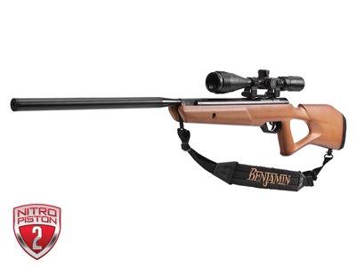 Benjamin Trail NP2 Air Rifle, Wood Stock, Combo air rifle
