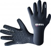 Mares Erwachsene Taucherhandschuhe Gloves FLEXA CLASSIC 3 mm, Schwarz, XXS, 412719