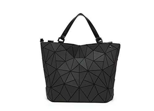 Luminous capacidad Tote Bag gran Bolso Scrub Bucket Bag small gradual Shoulder Messenger Bag de Señoras Luminoso Triángulo 6ExqTnSZg