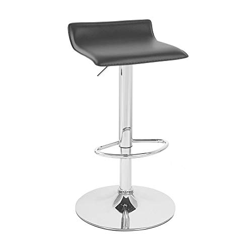 Winsome 93129 Spectrum Stool, Black - Winsome Wood Leather Bar Stool