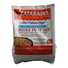 Zatarains Creole Pilaf Mix with Long Grain and Wild Rice. 36.5 Ounce - 6 per case.