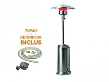 Calefactor Gas Intec inoxidable 13 kW/H - Calefactor de gas para terraza. Conector eléctrico Offerte: Amazon.es: Iluminación