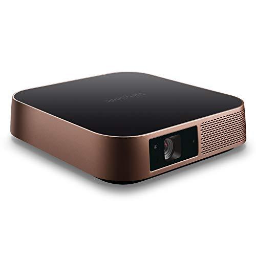ViewSonic M2 Proyector Smart LED Full HD para Gaming , Diversión en Familia y Entretenimiento en el hogar con Wi-Fi…