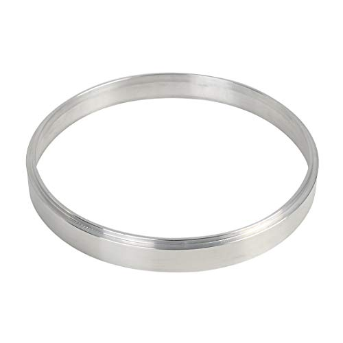 X AUTOHAUX 1/2 Inch Air Cleaner Spacer Riser Air Filter Spacer for Ford 350 Silver