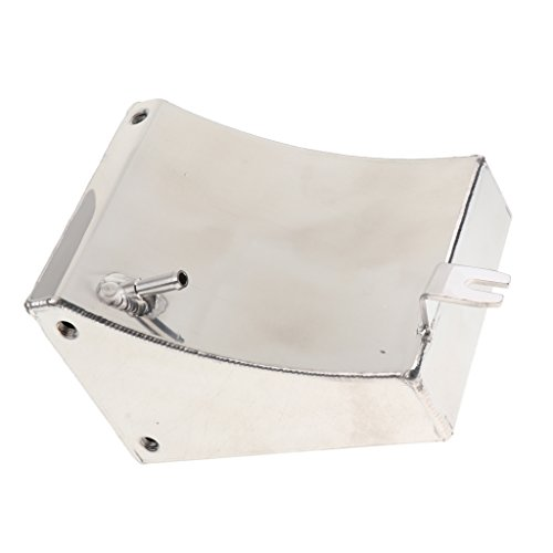 MagiDeal Univerial Car Modified Water Expansion Tank Bevel With Cap Silver SC-OT004 by Unknown (Image #3)