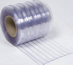 ビニールカーテン(のれん式) 超耐寒(リブ付) 厚み2mm×幅200mm×長さ30m巻 1巻 B008I9UJUQ