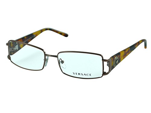 Versace Women's VE1163M Eyeglasses Dark Copper 50mm 1013 Eyeglasses Brown Frame