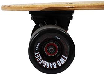 Two Bare Feet The Buddy 31in Bamboo Series Premium Pro Skateboard Cruiser completo