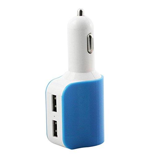Car Charger,SMTSMT Car Cigarette Lighter Socket Splitter Charger Power Adapter (Blue) by SMTSMT (Image #2)