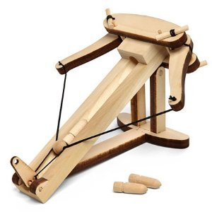 Miniature Ballista Kit - Wooden Desktop Warfare Ballista