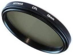 SODIAL(TM) 58mm Filtro Polarizado Circular (CPL) para Kodak, Nikon ...