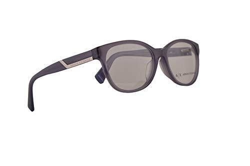 Armani Exchange AX3032F Eyeglasses 53-17-140 Mineral Mauve Milky w/Clear Demo Lens 8191 3032 AX 3032F