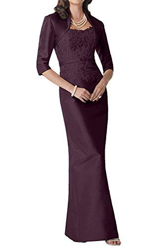 Perlen Rosa Lang Etuikleider Abendkleider Abiballkleider Traube Marie Brautmutterkleider Taft Partykleider La Braut TtEwqc1