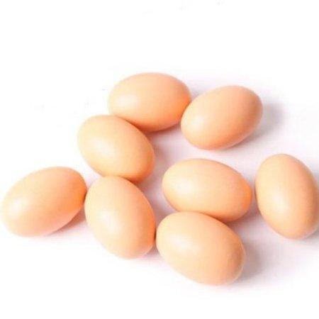 EQLEF® 10pcs Artificial Nest Eggs Fake Food Dummy House Decor