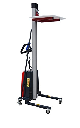 Pake Handling Tools - Electric Work Positioner Lift Truck, 220 lbs Capacity by Pake Handling Tools