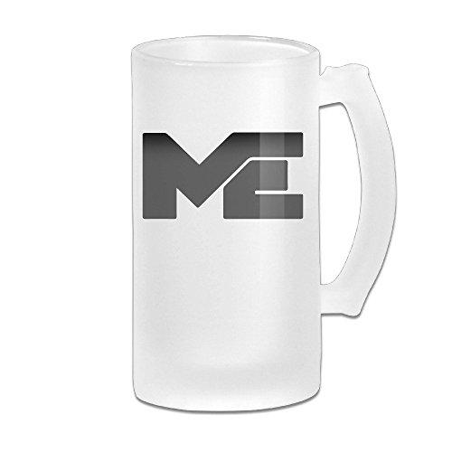 Matthew Espinosa Merch Logo Grind Beer Glass Mug White