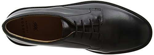 Hudson London Herren Ives Oxfords Schwarz (Black)