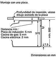 Balay 3CB5351N0 - Horno (Medio, Horno eléctrico, 47 L, 47 L, 0-275 ...