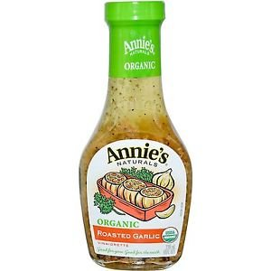 Annie's Naturals, Organic, Roasted Garlic Vinaigrette, 8 fl oz (236 ml)(packs of 2) (Annies Naturals Roasted Garlic)