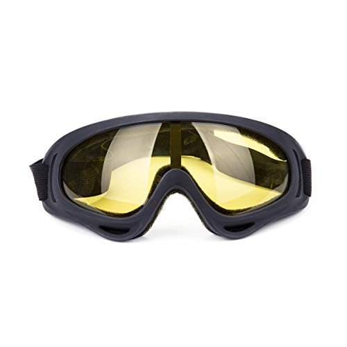 DODOING Ski Goggles, Snowboard Goggles with UV 400 Protection, Windproof, Dustproof, Anti-Glare Lenses Goggles for Motorcycle Cycling Outdoor Sports Eyewear for Kids, Boys & Girls, Youth, Men & Women from DODOING