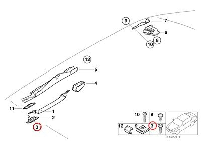 e46 door panel screws - 9