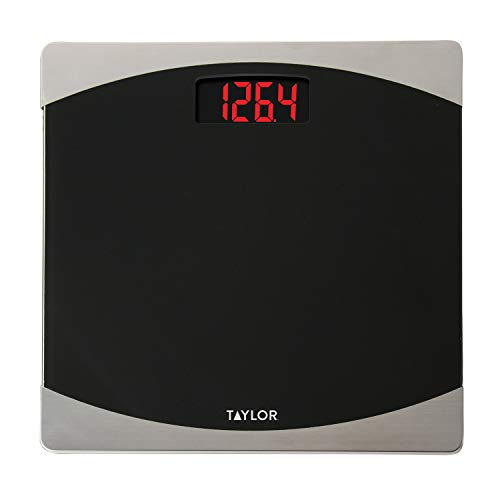 (Taylor Precision Products Glass Digital Bath Scale (Black/Silver))