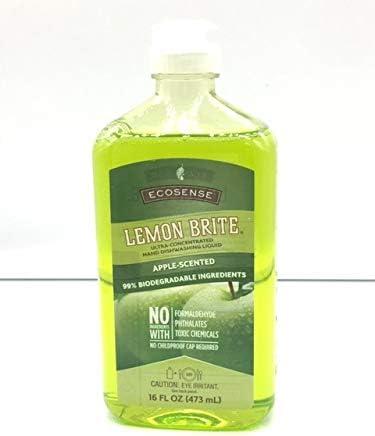 Melaleuca EcoSense Lemon Brite Dishwashing Liquid 16oz — Apple Scented