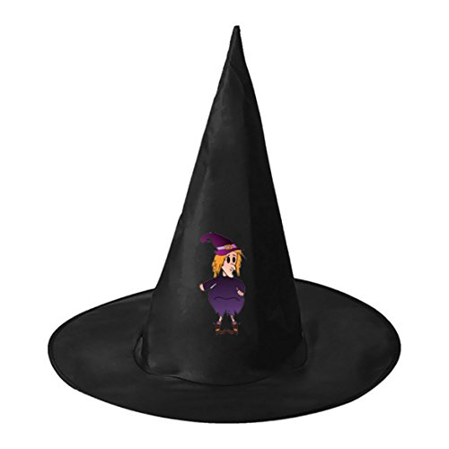Fat Witch Black Witch Hats Costume Halloween Party Carnivals Costume Accessory Cap Toys For Girl And (Fat Halloween Witch)