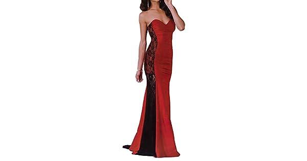 c1e0632ec Evening Dress Stan And Lace - Red - Medium: Amazon.ae: kity-uae