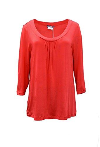 marina-rinaldi-womens-matte-jersey-stretch-fit-abitanti-top-sz-m-red-160196mm