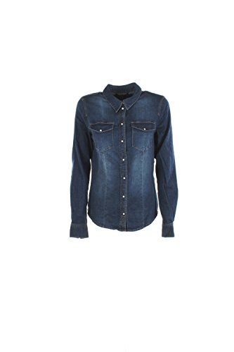 Camicia Donna Only 34 Denim 15130804/onlrock Autunno Inverno 2016/17