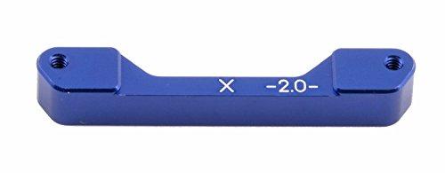 Team Associated 31069 TC4 X-2.0 Aluminum Rear Arm Mount